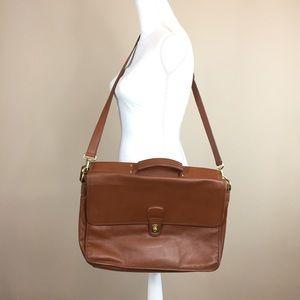 Coach Vintage Lexington Leather Briefcase Laptop